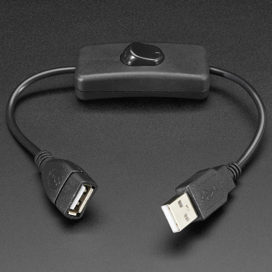 USB Cable with Switch – Pimoroni