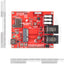 A product image of SparkFun MicroMod Weather Carrier Board