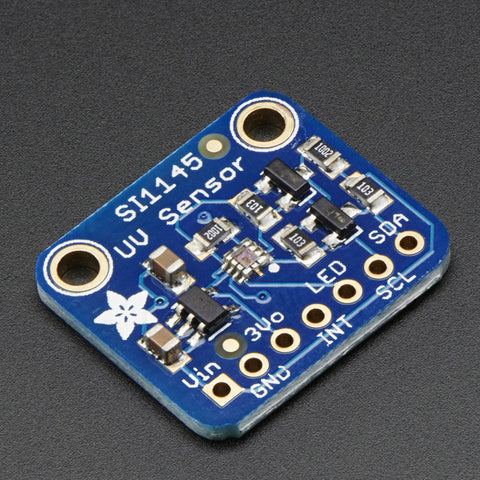 Adafruit SI1145 Digital UV Index / IR / Visible Light Sensor