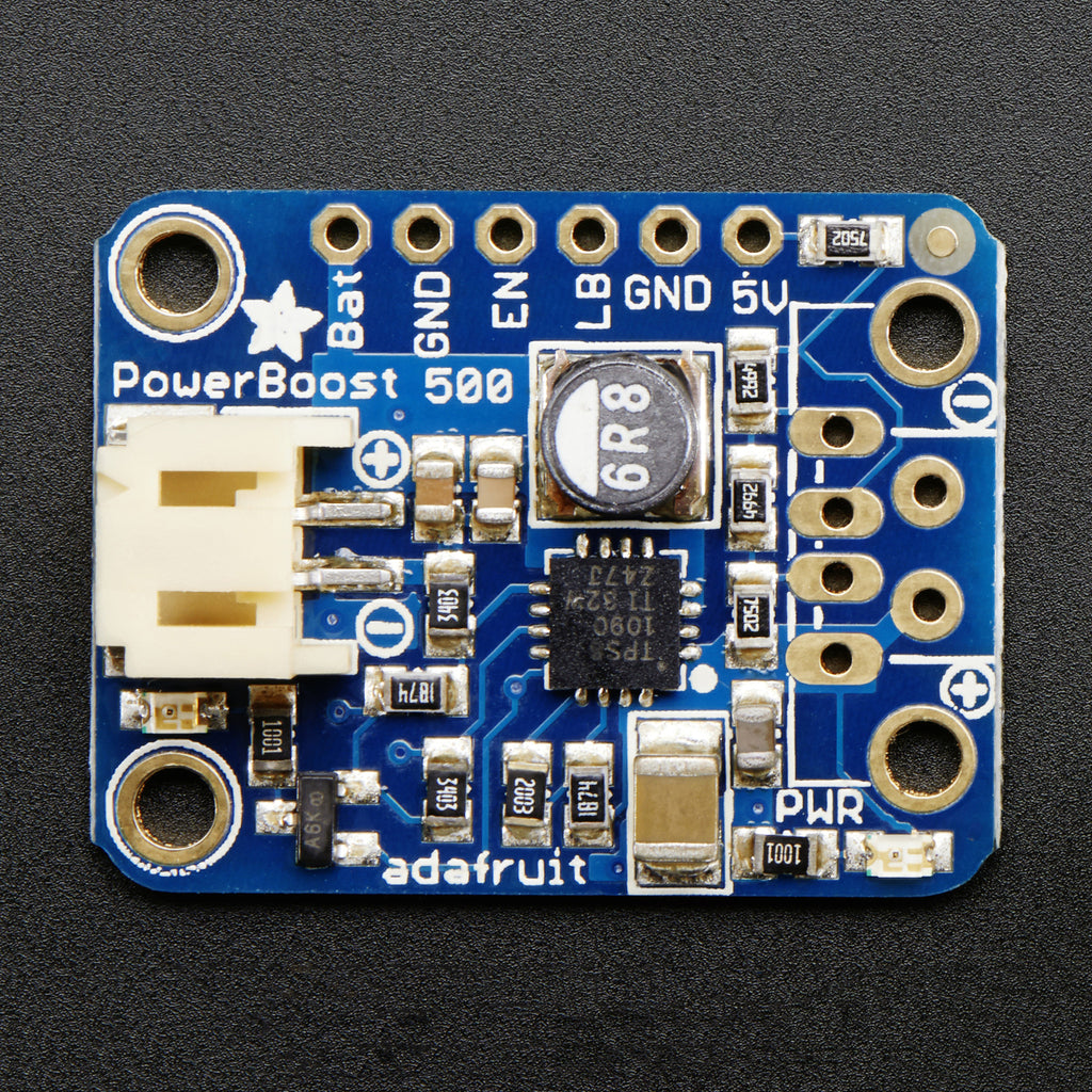 Adafruit Powerboost 500 Basic 5v Usb Boost 500ma From 18v Engine Running Detection Electronics Forum Circuits Projects And A Product Image Of 18