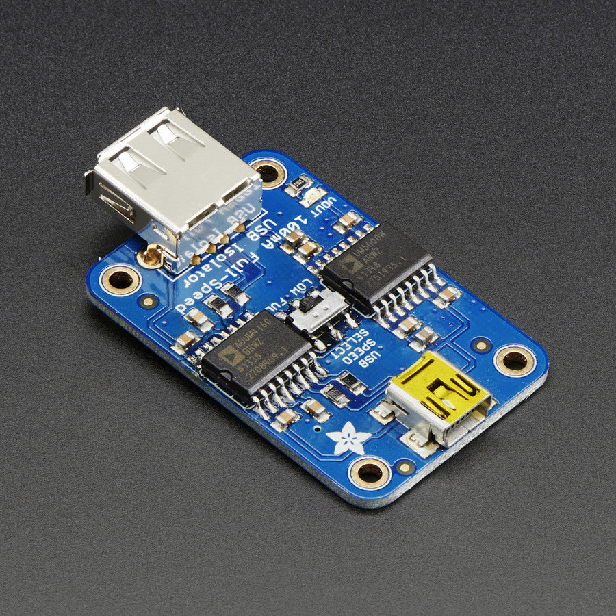 Adafruit Usb Isolator 100ma Isolated Low Full Speed Pimoroni Circuit Development Made Easy Build Electronic Circuits A Product Image Of