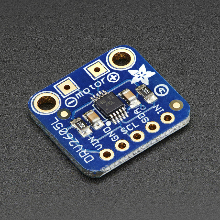 A product image of Adafruit DRV2605L Haptic Motor Controller