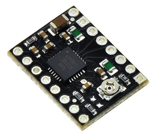 A product image of Pololu A4988 Stepper Motor Driver Carrier, Black Edition