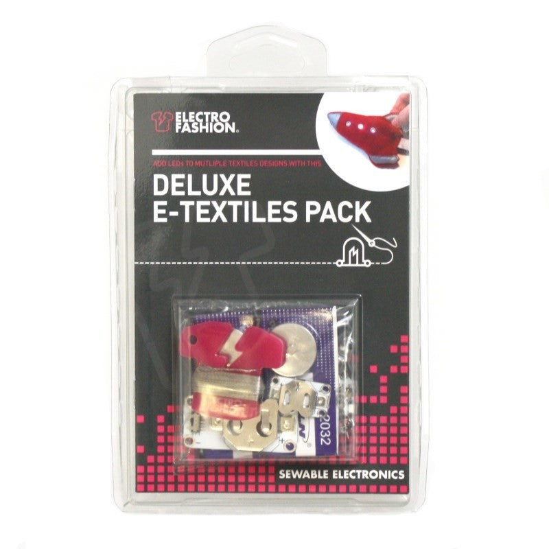 A product image of Electro-Fashion Deluxe E-Textiles Pack