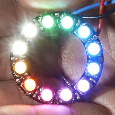 A product image of NeoPixel Ring - 12 x 5050 RGBW LEDs w/ Integrated Drivers