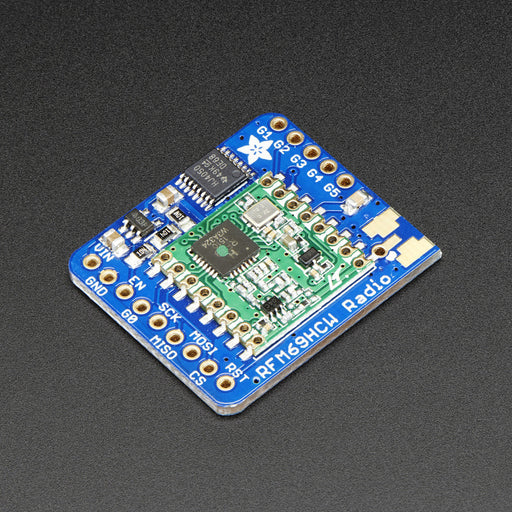 A product image of Adafruit RFM69HCW Transceiver Radio Breakout