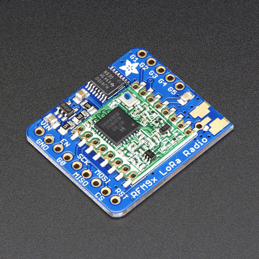 A product image of Adafruit RFM95W LoRa Radio Transceiver Breakout