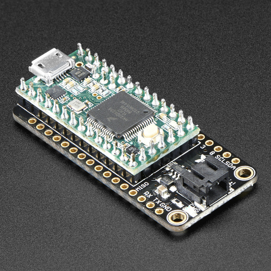 A product image of Teensy 3.x Feather Adapter