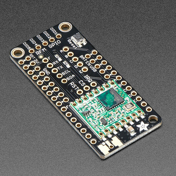 A product image of Adafruit LoRa Radio FeatherWing - RFM95W 900 MHz - RadioFruit