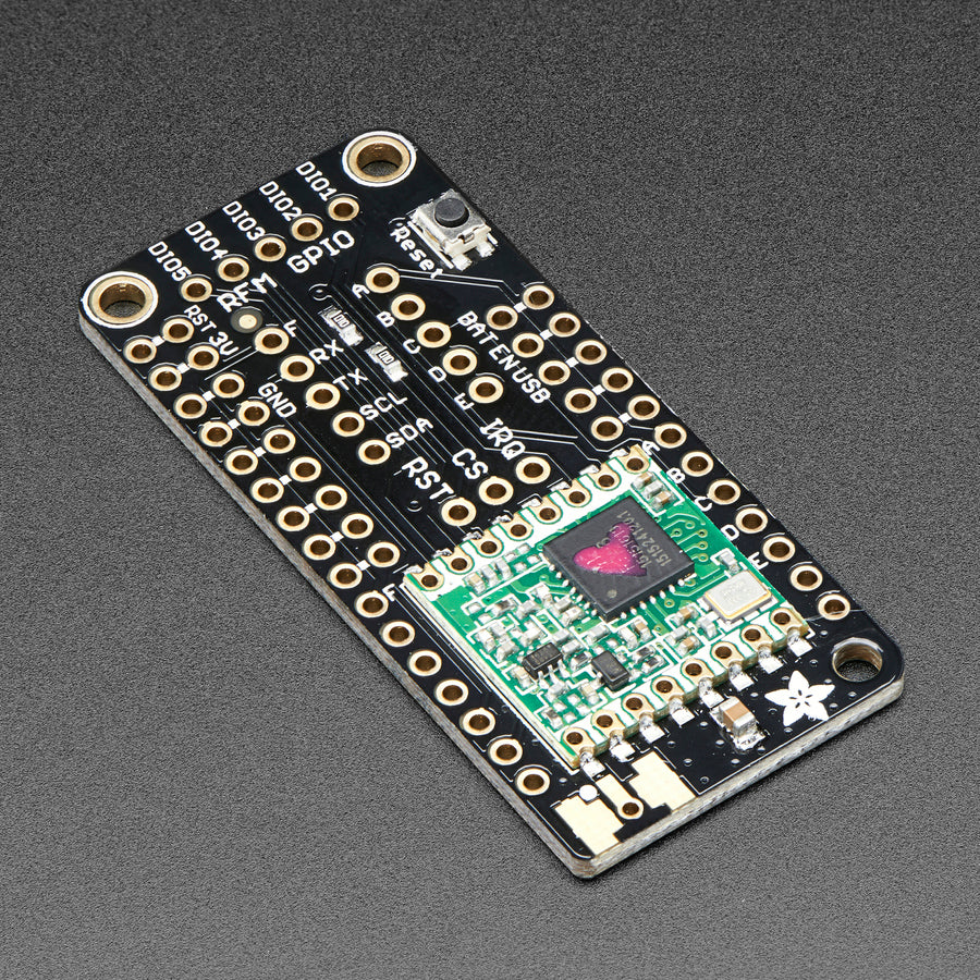 A product image of Adafruit LoRa Radio FeatherWing - RFM95W 433 MHz - RadioFruit