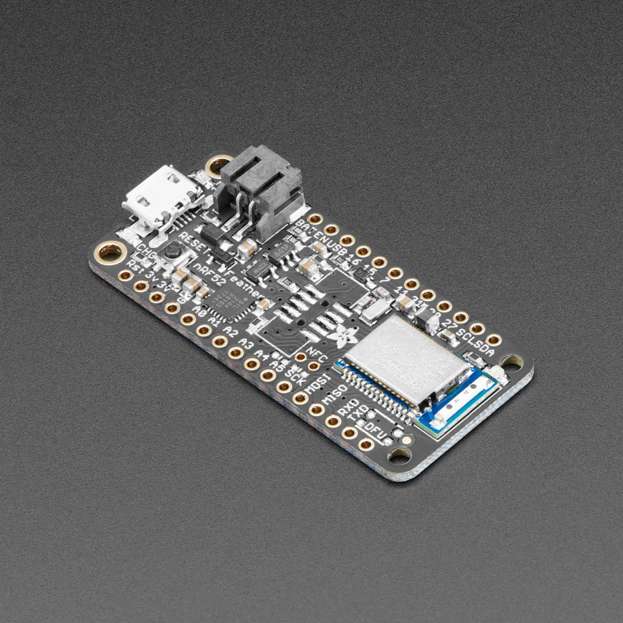 Adafruit Feather Nrf52 Bluefruit Le Nrf52832 Pimoroni Microcontroller Detecting Open Circuit Very Low Power Electrical A Product Image Of