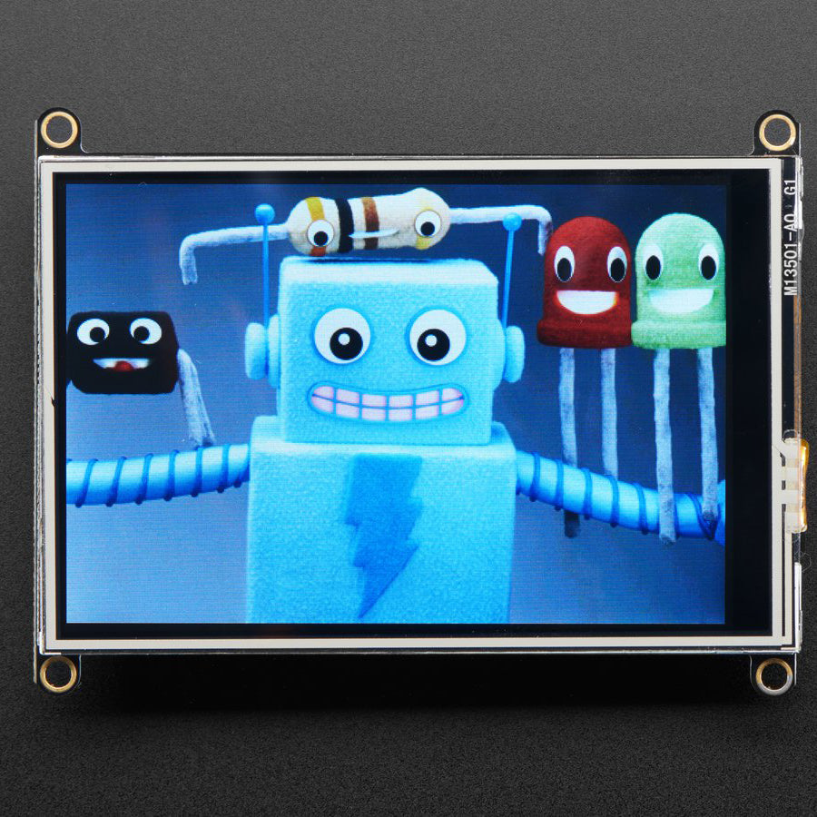 A product image of Adafruit TFT FeatherWing - 3.5