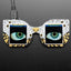 A product image of Adafruit MONSTER M4SK - DIY Electronic Eyes Mask