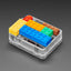 A product image of Plastic Translucent Enclosure for Metro or Arduino - LEGO Compatible