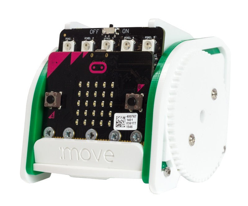 A product image of :MOVE mini buggy kit for micro:bit