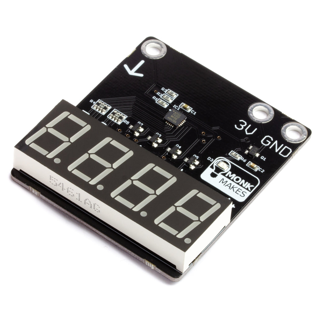 A product image of 7-segment for micro:bit