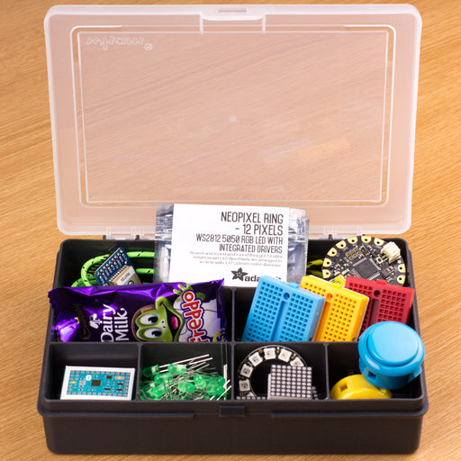 A product image of Component Storage Box - 7 compartment