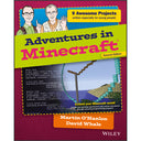 A product image of Adventures in Minecraft, 2nd Edition