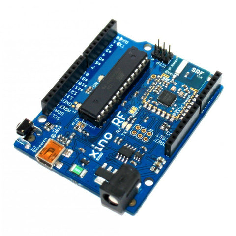 XinoRF - Microcontroller with radio transceiver (Arduino compatible)