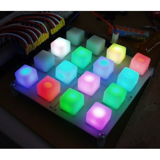 A product image of Button Pad 4x4 - LED Compatible