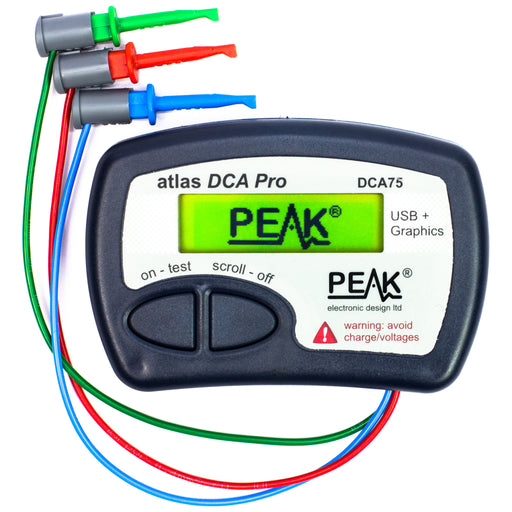 A product image of Atlas DCA Pro - Advanced Semiconductor Analyser with Curve Tracing