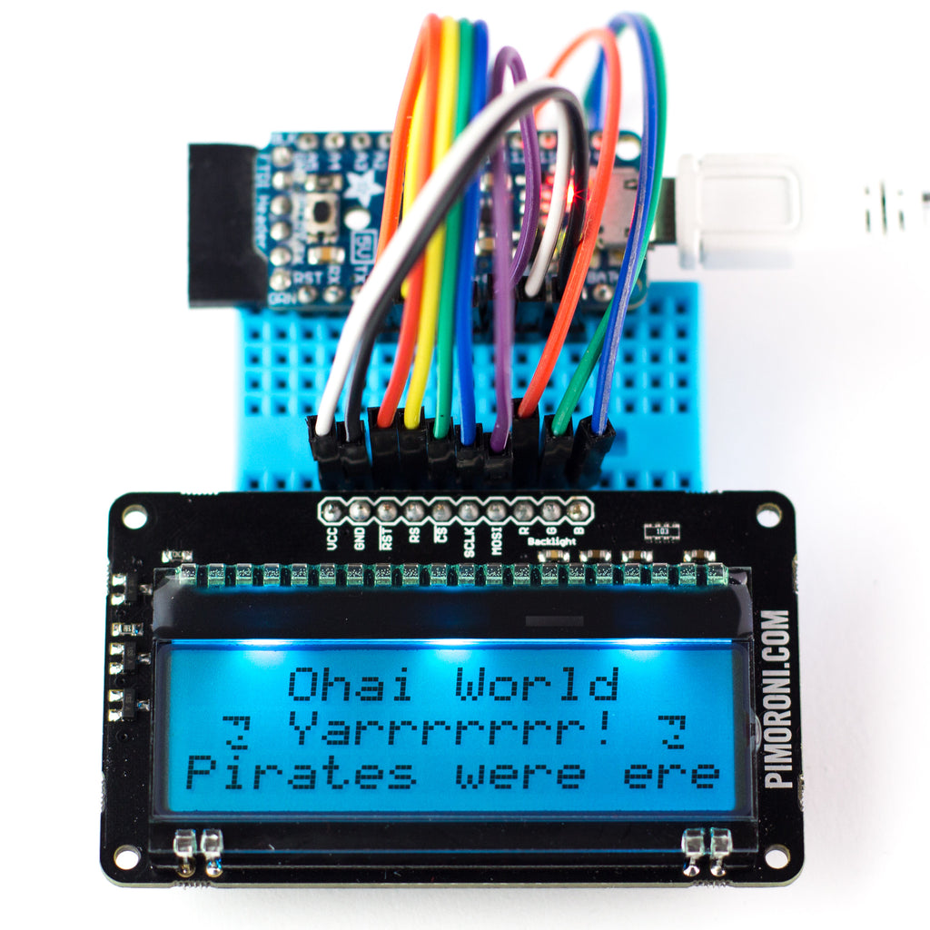 A product image of Display-O-Tron RGB Breakout