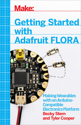 A product image of Getting Started with Adafruit FLORA