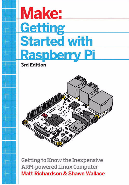 A product image of Getting Started With Raspberry Pi, 3rd Edition