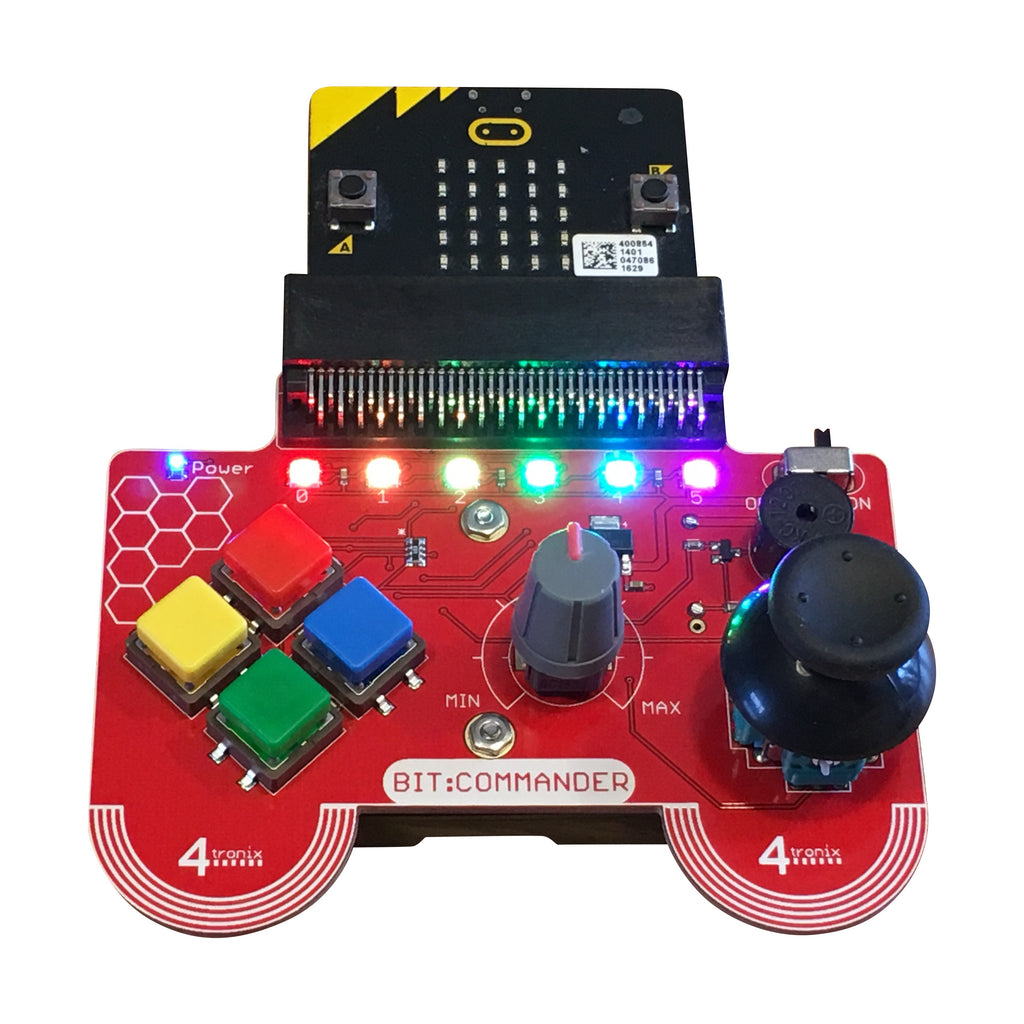 A product image of Bit:Commander Console & Controller for micro:bit