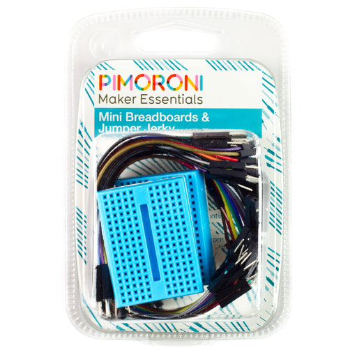 A product image of Maker Essentials - Mini Breadboards & Jumper Jerky