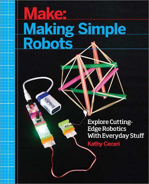 A product image of Make: Making Simple Robots