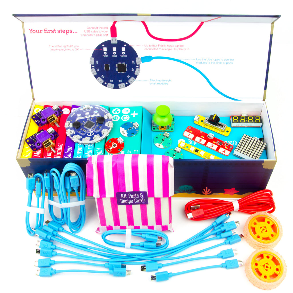 A product image of Flotilla - Mega Treasure Chest Starter Kit