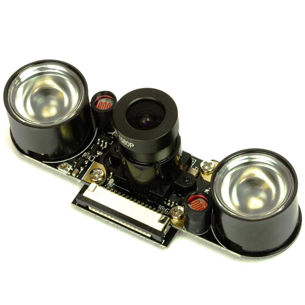 A product image of Night vision camera module for Raspberry Pi