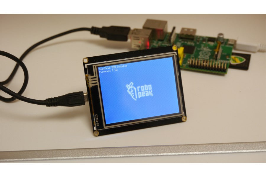 Dfrobot usb tft touch display screen for rpi pimoroni