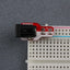 A product image of Breadboard Power plate DC Jack kit