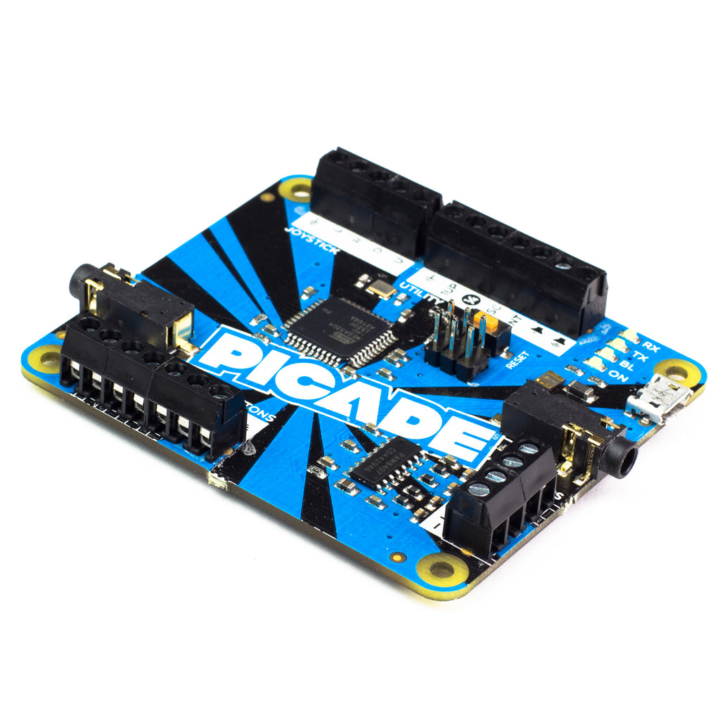 A product image of Picade PCB - Arduino Compatible with 3W Amp