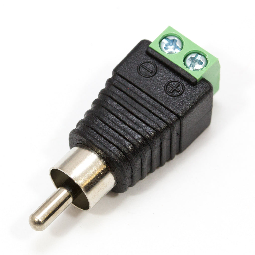 A product image of RCA to Screw Terminal Adaptor