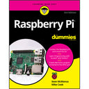 A product image of Raspberry Pi For Dummies, 3rd Edition