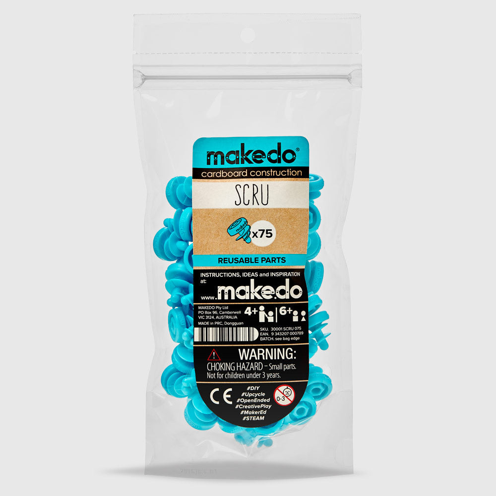 A product image of MAKEDO Scru & Scru-Driver (Top-up packs)