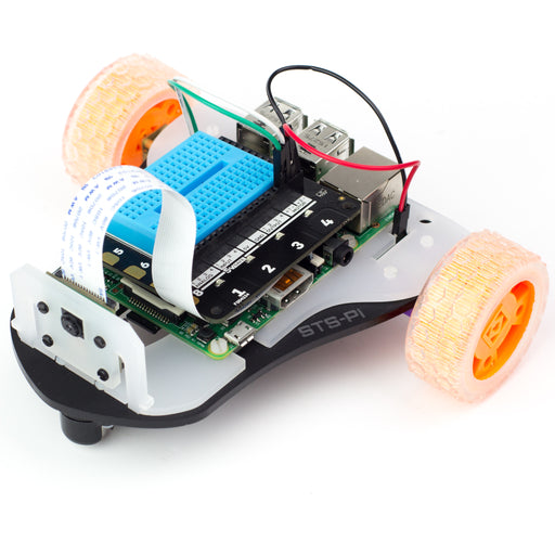 A product image of STS-Pi - Build a Roving Robot!