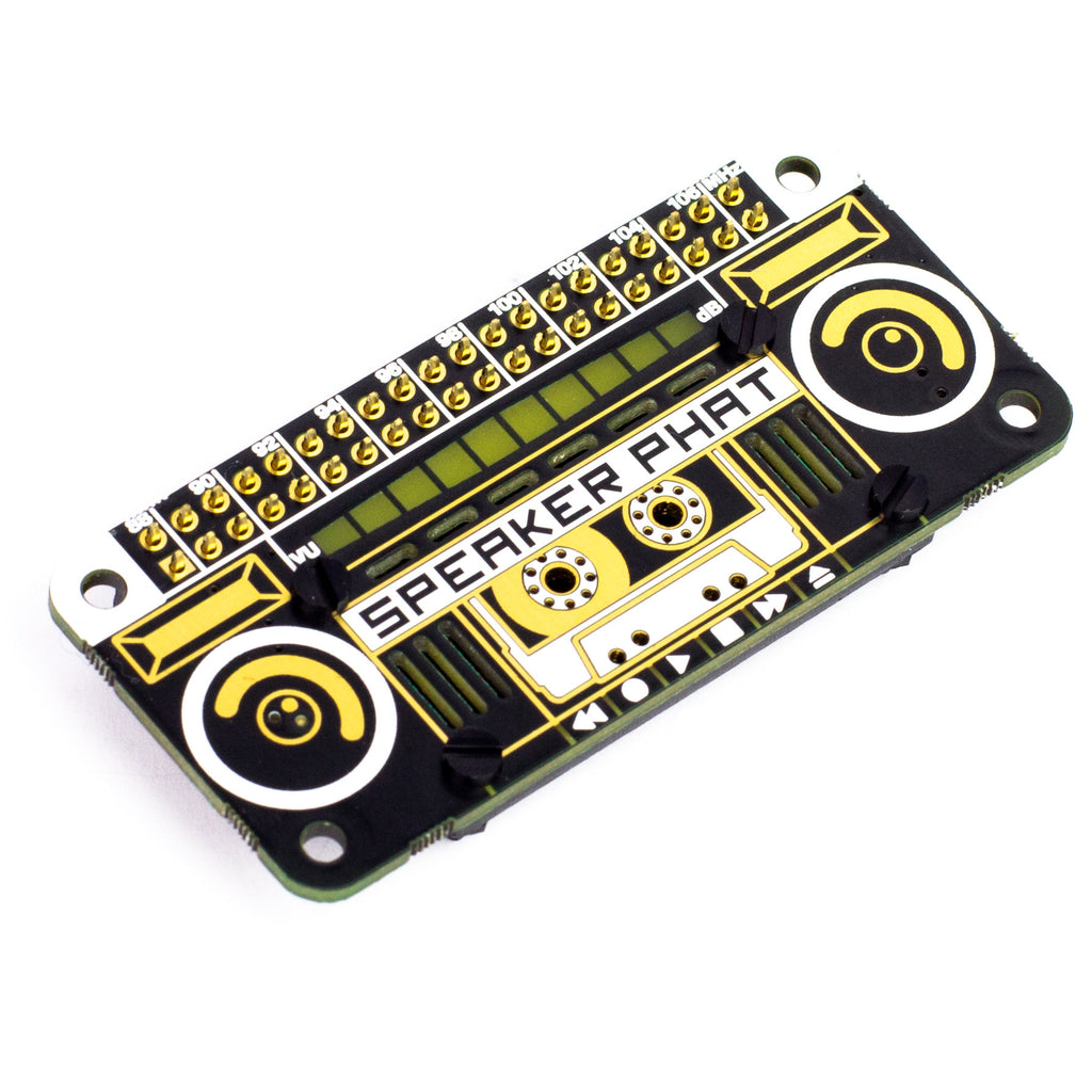 New product from Pimoroni for the Raspberry Pi – the Speaker pHAT ...