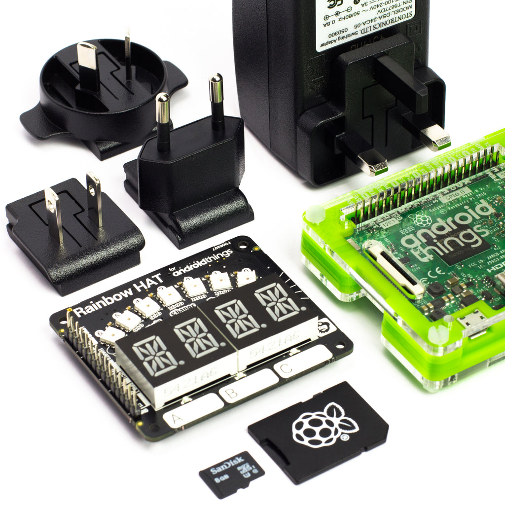 Raspberry Pi 3 Starter Kit for Android Things