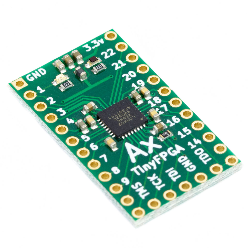 A product image of TinyFPGA AX1