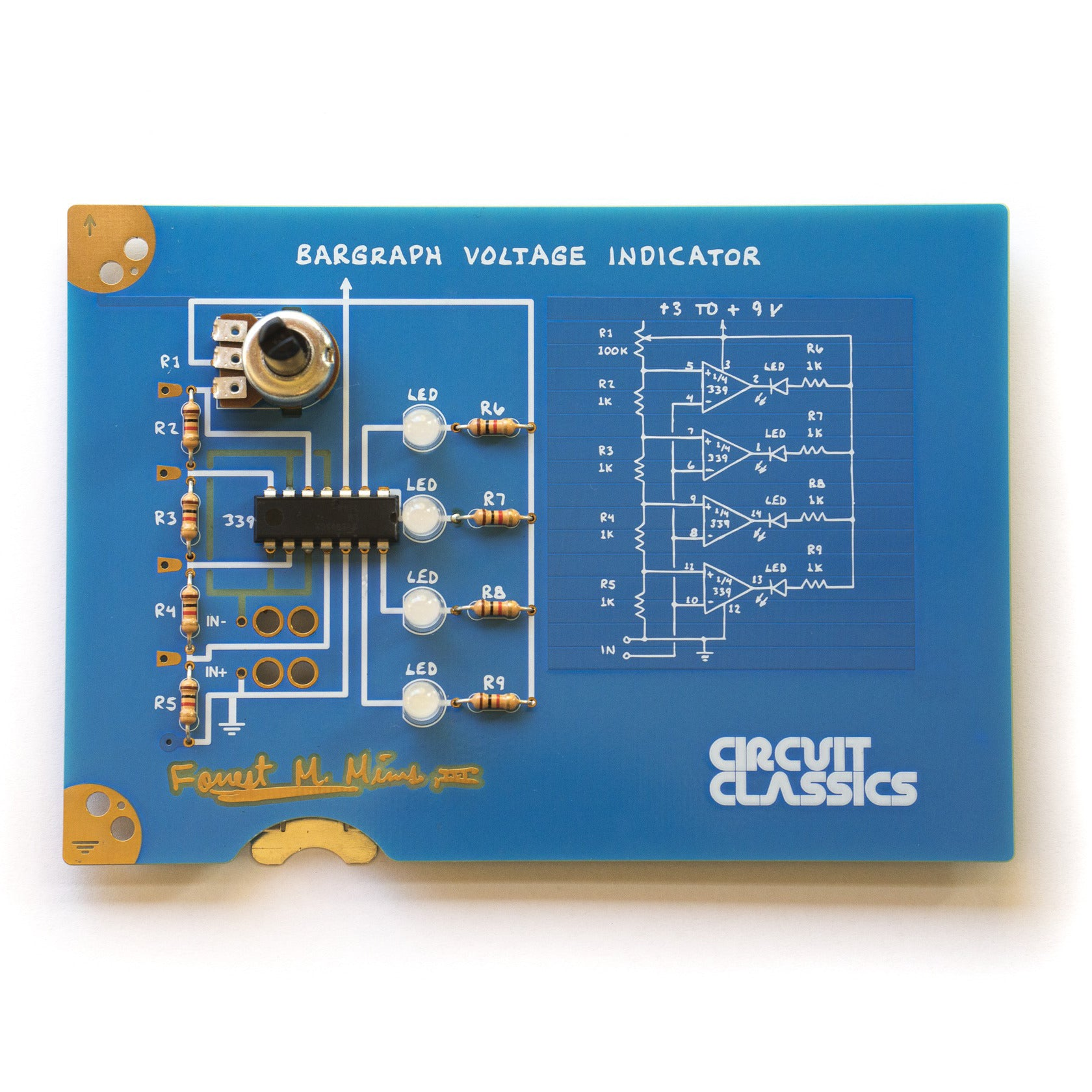 In The Kit With Thermistor And Voltage Divider Circuit Programming Arduino Bargraph Indicatorv1531300587