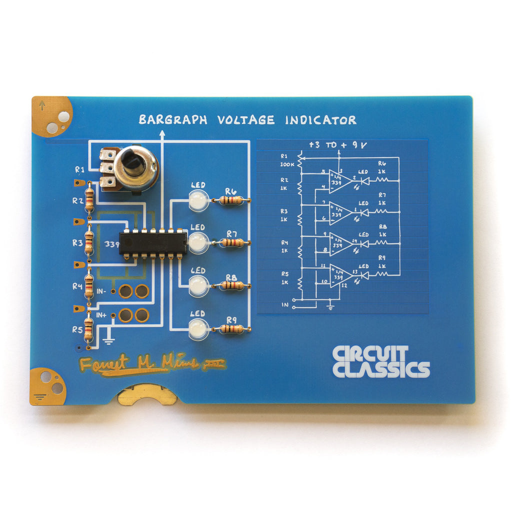 A product image of Circuit Classics: Bargraph Voltage Indicator