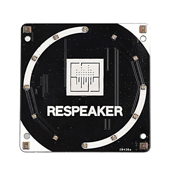 A product image of ReSpeaker 4-Mic Array for Raspberry Pi