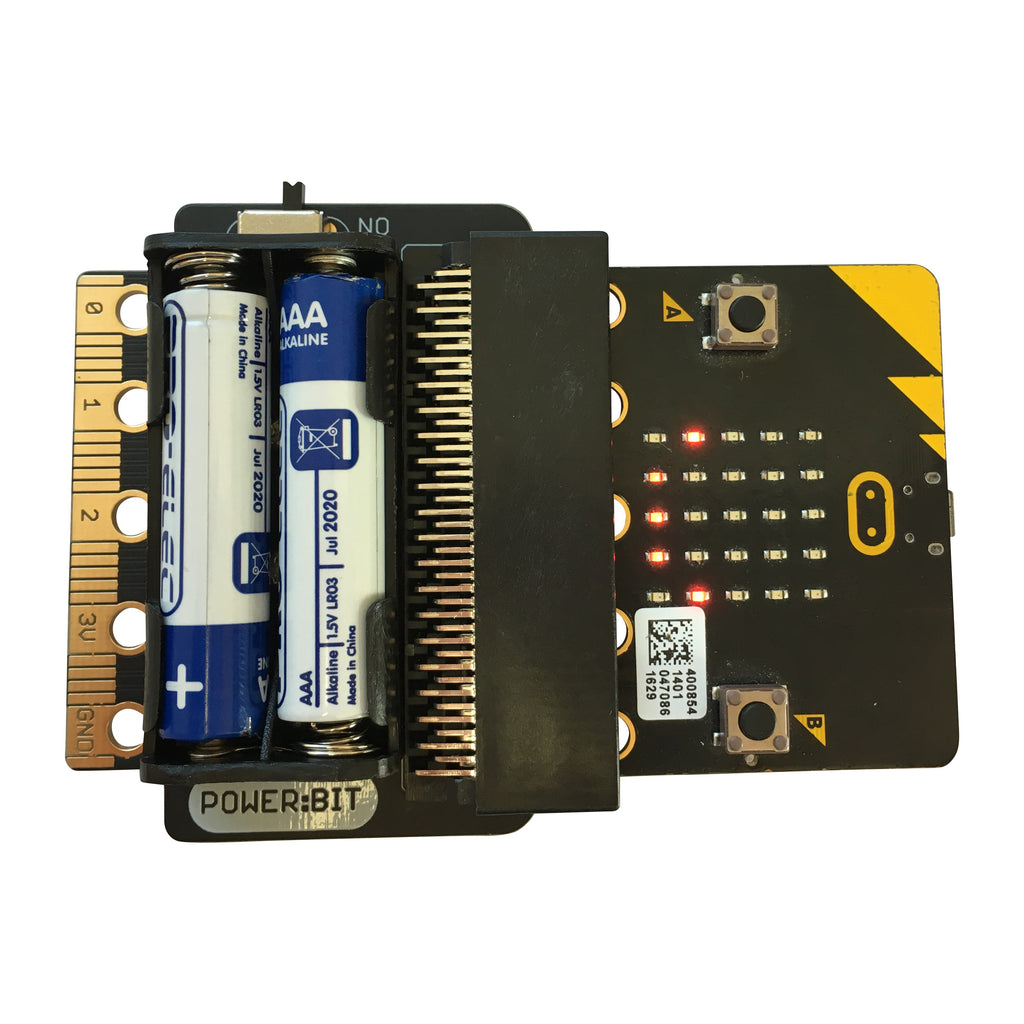 A product image of Power:Bit battery power for micro:bit