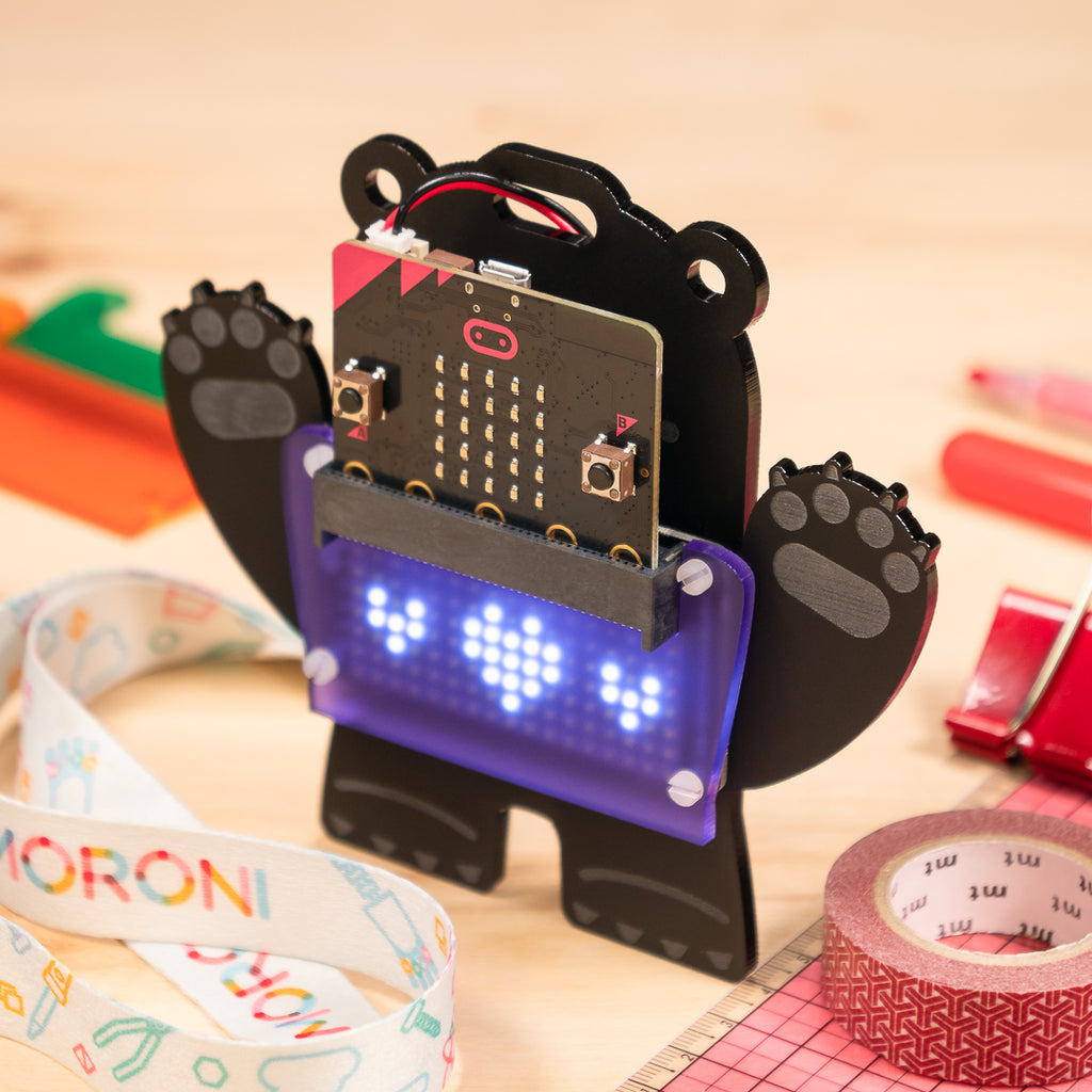 A product image of scroll:bit micro:bit Kit