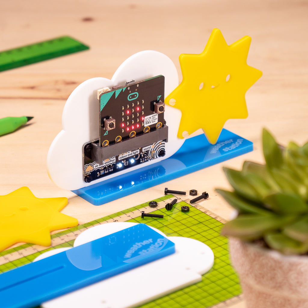 A product image of enviro:bit micro:bit Kit