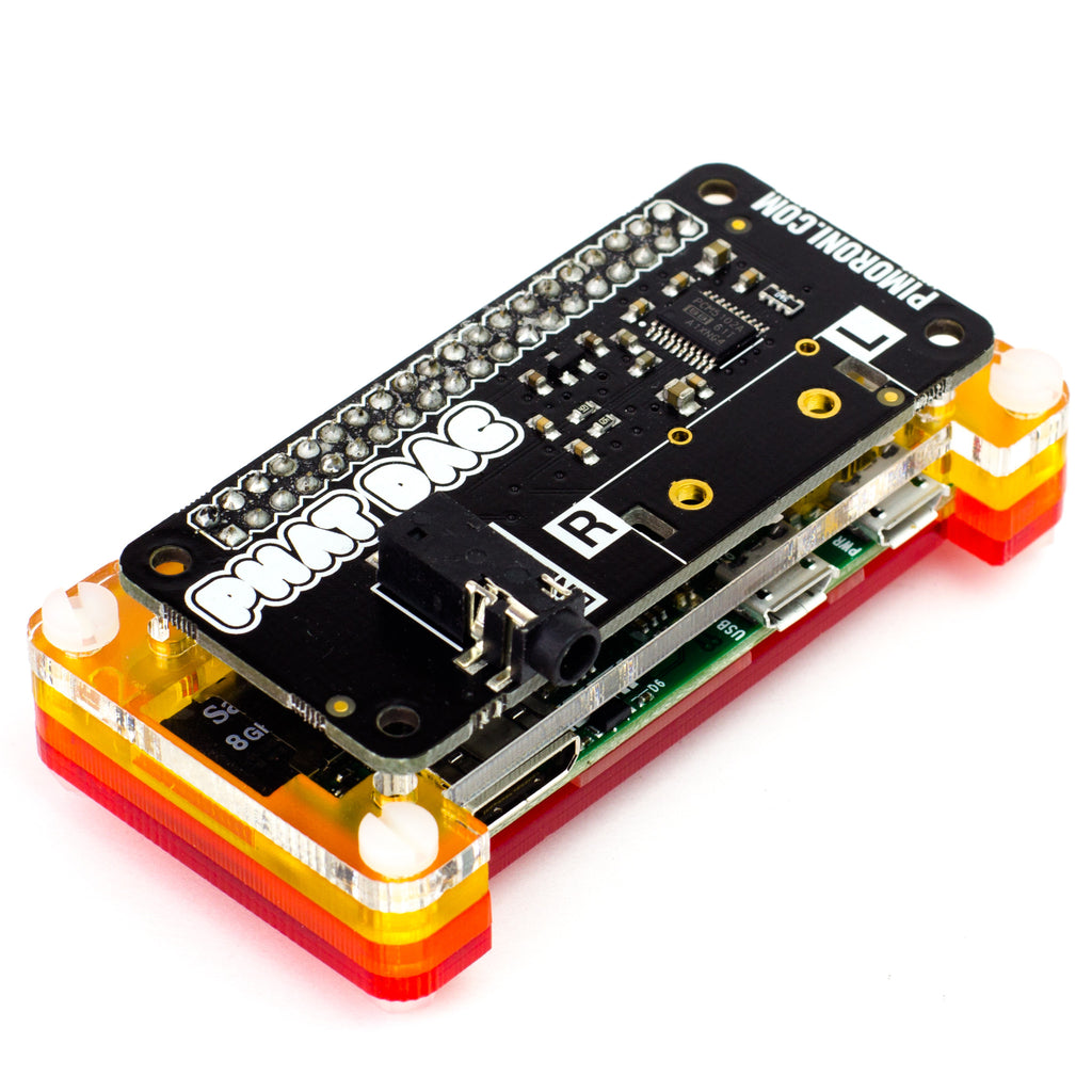 Phat Dac Pimoroni Circuit S1 Is Working But No Sound Came Out When The Audio Signal To